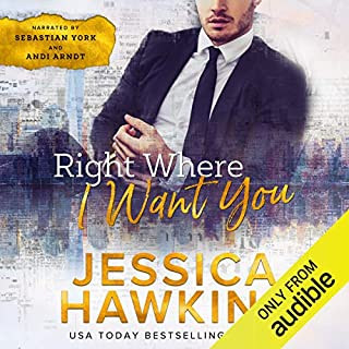 Right Where I Want You audiobook cover art