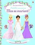 J'habille mes amies - Elles se marient ! - Autocollants Usborne