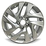Road Ready Car Wheel For 2014-2016 Honda CR-V 17 Inch 5 Lug Silver Aluminum Rim Fits R17 Tire - Exact OEM Replacement - Full-Size Spare