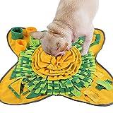 Famibay Tappeto Olfattivo Cane Foraggiamento Mat Lavabile Tappetino Fiuto Cane Sniffing Stuoia Mat per Cani Atossico Tappetino da Addestramento Esercizio Mentale Relax