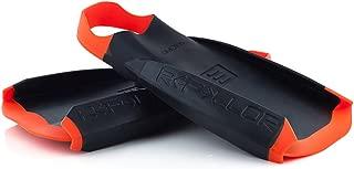 DMC Fins REPELLOR Black with Orange Strap