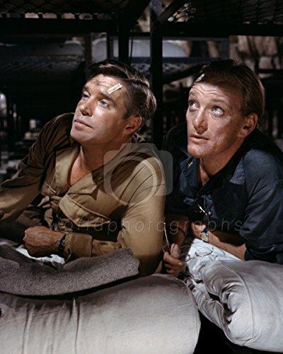 Operatie Kruisboog (1965) George Peppard, Jeremy Kemp 10x8 foto
