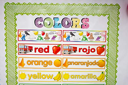 Teacher Created Resources Colors Headliners (4482),Multi Color Photo #3