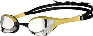 ARENA Gafas Cobra Ultra Swipe Mirror Natación, Unisex niños, Silver/Gold, Talla Única