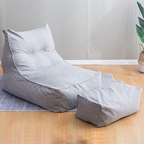 Sofa gevulde zitzak en opslag voor kinderen en peuters, jongeren en volwassenen, vijf kleuren, modern hout Free size roze