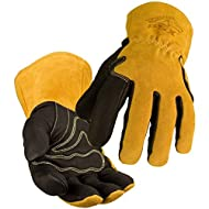 Revco Industries BM88L BSX BM88 Extreme Pig Skin MIG Welding Gloves, Large