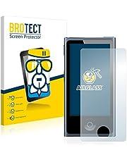 BROTECT Protector Pantalla Cristal Compatible con Apple iPod Nano 2012 (7a generación) Protector Pantalla Vidrio - Dureza Extrema, Anti-Huellas
