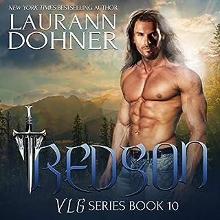 Redson audiobook cover art