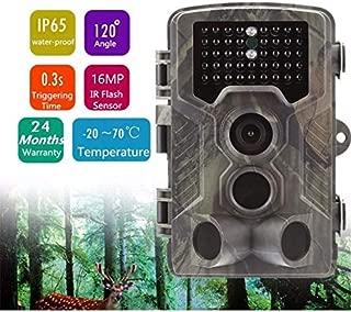 Flybiz C/ámara de Caza 1080P Impermeable IP66 para Vigilancia Camara Caza con 40 pcs 850nm Luz Invisible Cazar Camara Caza Nocturna Velocidad de Disparo de 0.3s de hasta 82 pies //25m