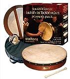 "WALTONS PACK 18 ""CLASSIC BROWN Bodhran - Gift Set"
