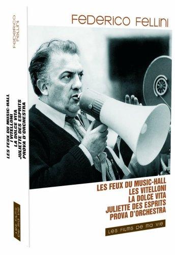 Coffret Fellini : Les feux du music-hall / Juliette des esprits / La dolce vita / I vitelloni / Prova d'orchestra - Coffret 5 DVD