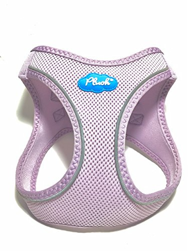 Plush Step-in Air Mesh Harness - Lavender Frost XS (13'-15')