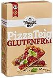 Bauckhof Pizza-Teig, glutenfrei, 4e-r Pack (4 x 350 g) - Bio