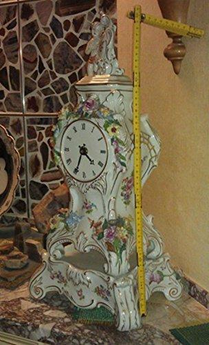 Kaminuhr 55 cm Sächsische Porzellan-Manufaktur Dresden GmbH