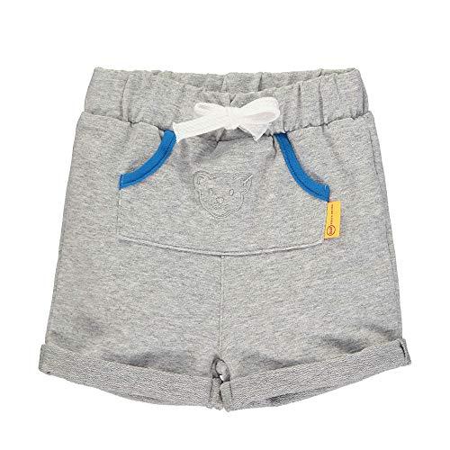 Steiff Baby-Jungen Shorts, Grau (Quarry 9007), 50 (Herstellergröße: 050)