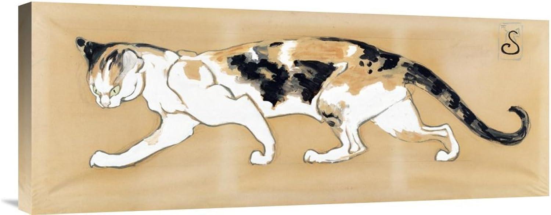 Global Galerie Budget gcs-265576–76,2–360,7 cm Theophile Steinlen die die die Katze Galerie Wrap Giclée-Kunstdruck auf Leinwand Art Wand B01K1Q5I86 | Sehr gelobt und vom Publikum der Verbraucher geschätzt  dca550