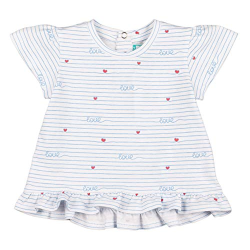 Top Top CARRIOLA Camiseta, Estampado, 3-6Meses para Bebés