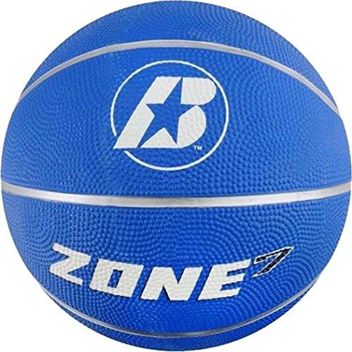Find Bargain Baden Zone Basketball Size 7 Blue