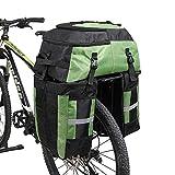 Best Bike Panniers - Huntvp 3 in 1 Bike Pannier Bag Bicycle Review