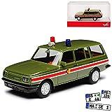 Wartburg 353 W Tourist Kombi NVA DDR 1975-1989 H0 1/87 Herpa Modell Auto