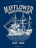 Mayflower Descendant: College Ruled Line Notebook Mayflower Gift 1620-2020