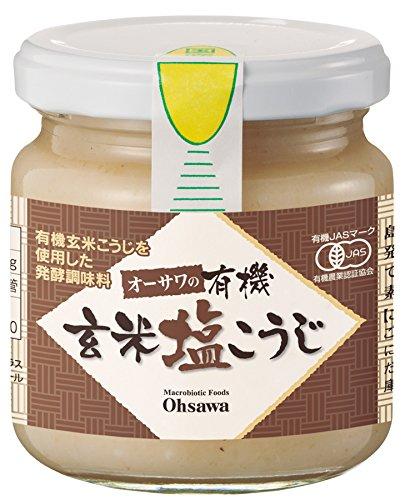 オーサワジャパン『オーサワの有機玄米塩こうじ』