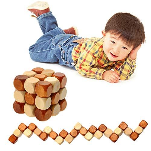 XGQ Niños de Madera for Adultos Desbloqueo Casual Juguetes Cubo Juguetes DIY Niños Bebé Juguete Educativo