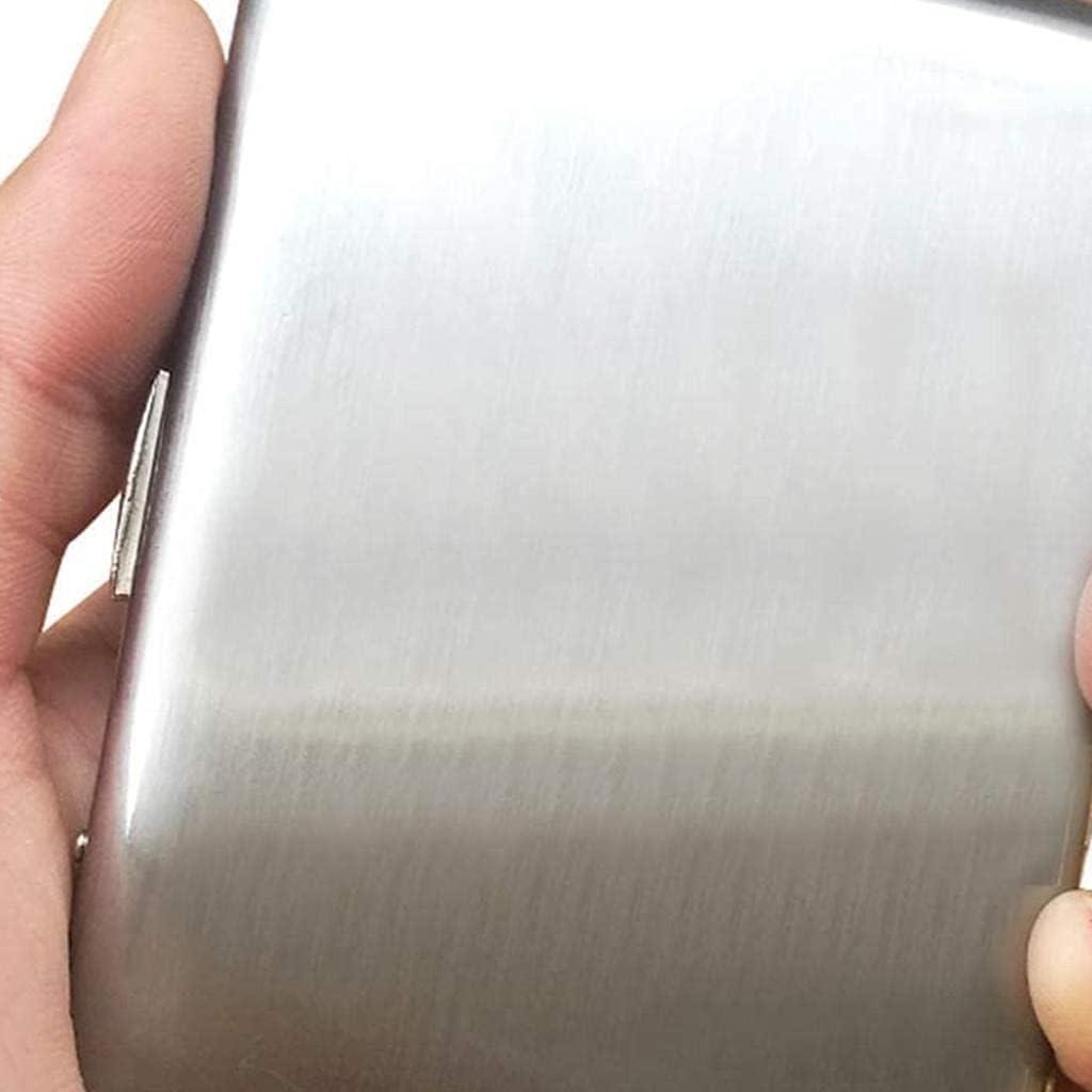 KMDJ Portable Max 44% OFF Cigarette Box 16pcs Ultra-Thin Direct sale of manufacturer Men's Metal Bright