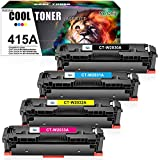 Cool Toner Compatible Toner Cartridge Replacement for HP 415X 415A W2030A W2030X for HP Color LaserJet M454...