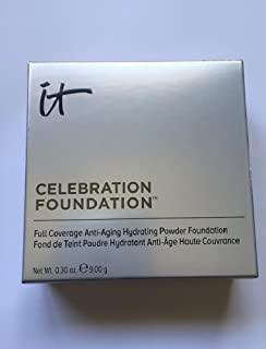 It Cosmetics Celebration Foundation in Medium (Medium Beige) .30 Ounce Compact
