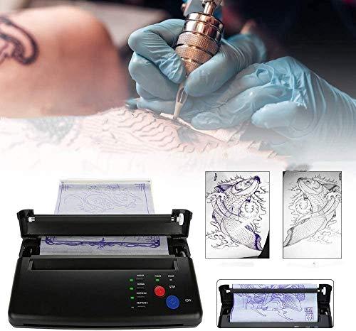 TTLIFE Máquina de transferencia de tatuajes Máquina de papel encerado caliente con...