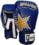 Farabi Star - Guantoni da Boxe per Bambini, Ideali per Kickboxing, Arti Marziali, MMA, Muay Thai, Allenamento e Palestra, 170g