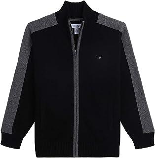 Calvin Klein Boys' Full Zip Sweater