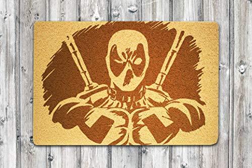 StarlingShop Deadpool - Felpudo para Puerta, diseño de Superman Marvel