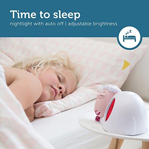 Aide a dormir SAM avec veilleuse rose
