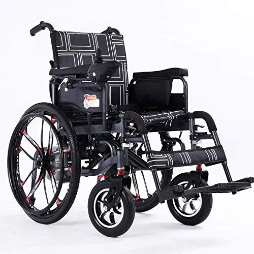 TYT Elektrorollstuhl für ältere Menschen Behindertenhaus Faltbarer leichter Roller für ältere Menschen im Gelände,Offroad-Modelle [Großrad] Lithiumbatterie 20
