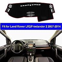 OZLXKNC 2層カーインナーダッシュボードカバーダッシュマットパッドカーペットサンシェード左ハンドル、ランドローバーLR2フリーランダー2 2007-2013 2014