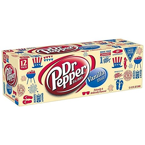 Dr Pepper Vanilla Float 12 x 355 ml