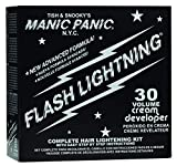 Manic Panic - Flash Lightning Bleach Kit 30 Volume Box Kit Vegan Cruelty Free Hair Bleach 1.3 oz of...