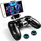WEPIGEEK Controller Phone clip Mount Compatible with Plastation 4 Pro/Slim Official Wireless Bluetooth...