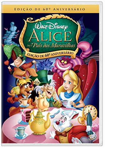 Alice No País Das Maravilhas Edição De 60º Aniversário [DVD]