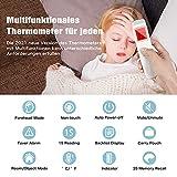 Immagine 1 termometro frontale febbre infrarossi termoscanner