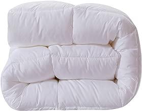 NS Luxury King Size Goose Down Duvet Comforter Doona Bedspread Blanket Coverlet for Winter Color White