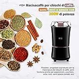Zoom IMG-1 kyg macinacaffe elettrico 300w con