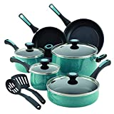 Paula Deen 16981 Riverbend Nonstick Cookware Pots and Pans Set, 12...