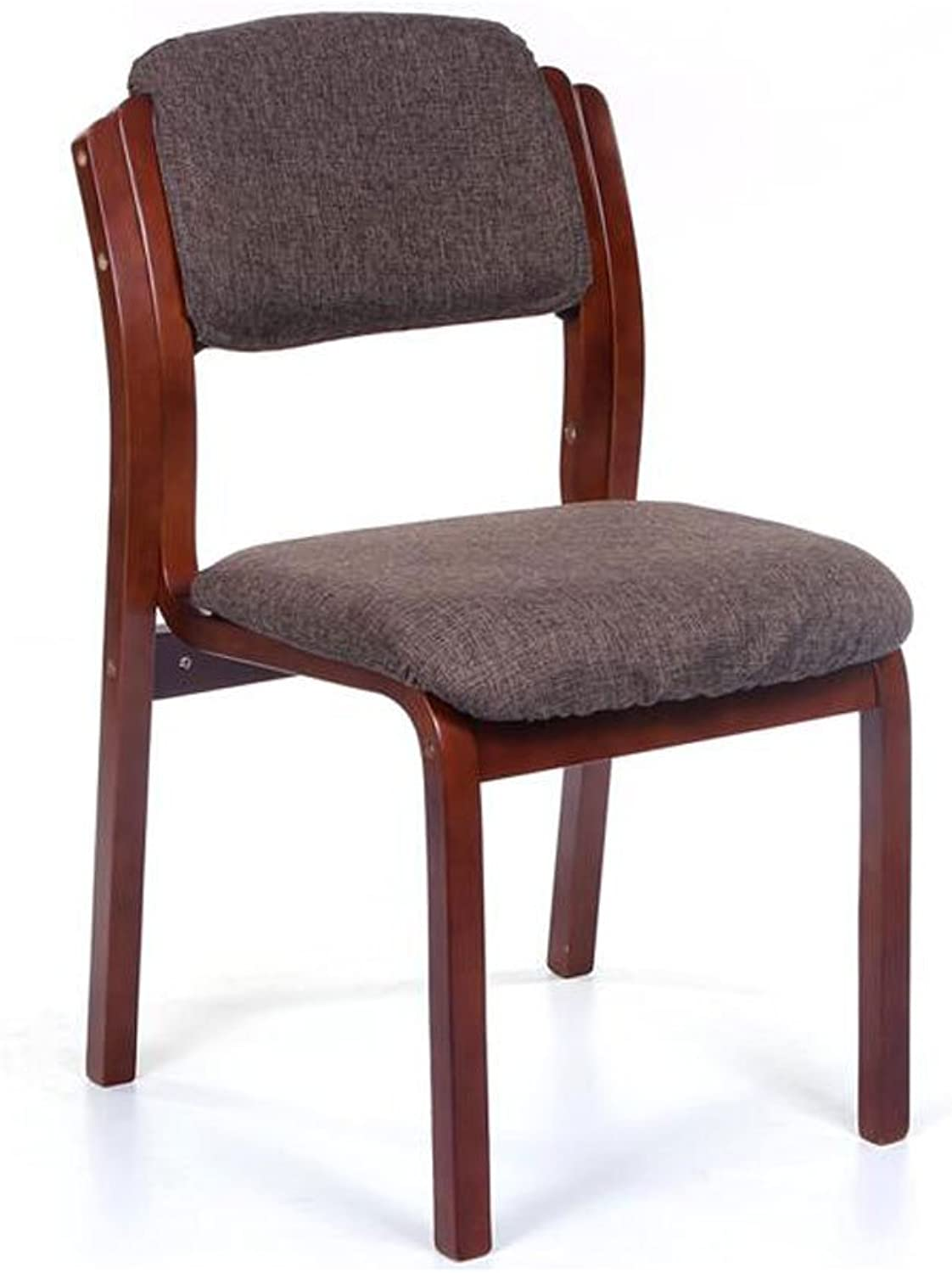 KXBYMX Simple Wooden Chair, Nordic Dining Chair Sofa Chair Back Office Chair. Kitchen Lounge Furniture (color   B)