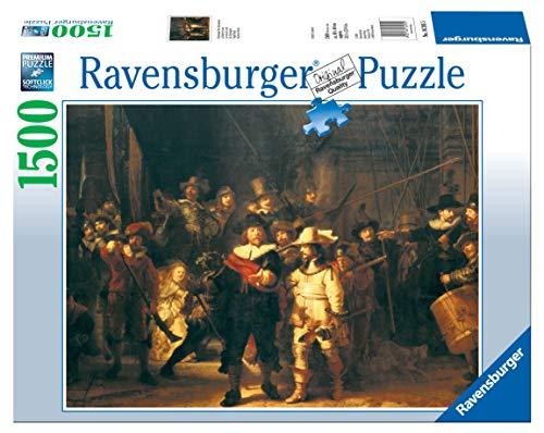 Ravensburger 16205 - Rembrandt, Die Nachtwache Puzzle, 1500 Teile