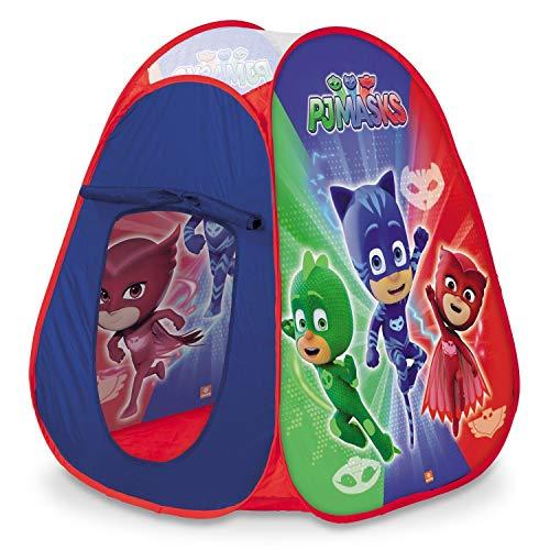 Mondo Toys - PJ Masks Pop-Up Tent - Tenda da gioco per bambino / bambina - facile da montare / easy to open - borsa per trasporto INCLUSA - 28435