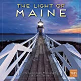 2021 The Light of Maine: The Landscape Photography of Colin Zwirner 16-Month Wall Calendar