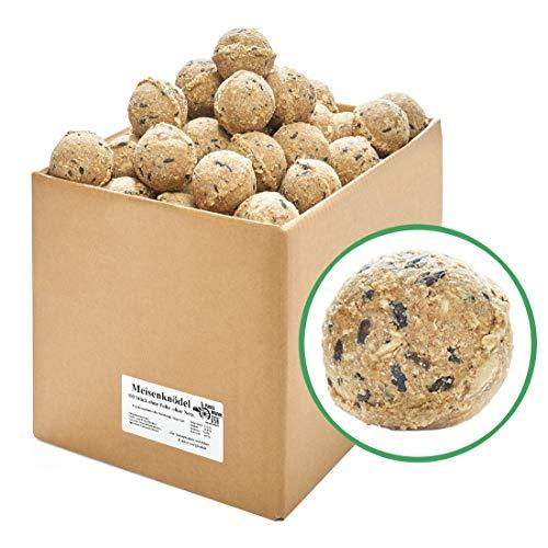Paul´s Mühle Meisenknödel für Wildvögel, ohne Netz, ohne Folie im Karton, 100 Stück